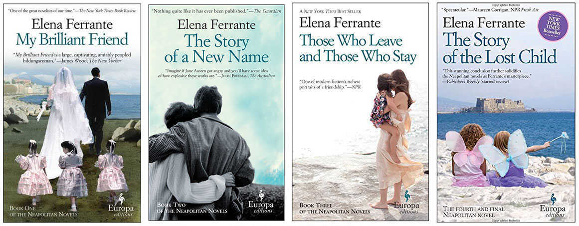 Image result for The Neapolitan Quartet by Elena Ferrante