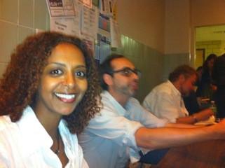 Maaza Mengiste (left) + Shteyngart & Urrea Blurs (right)