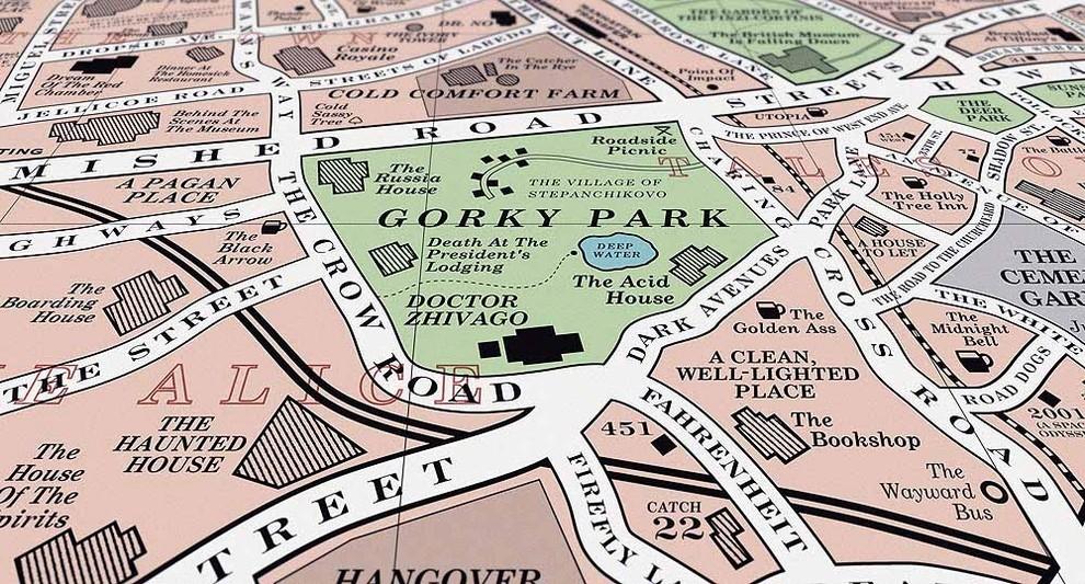 bookish map