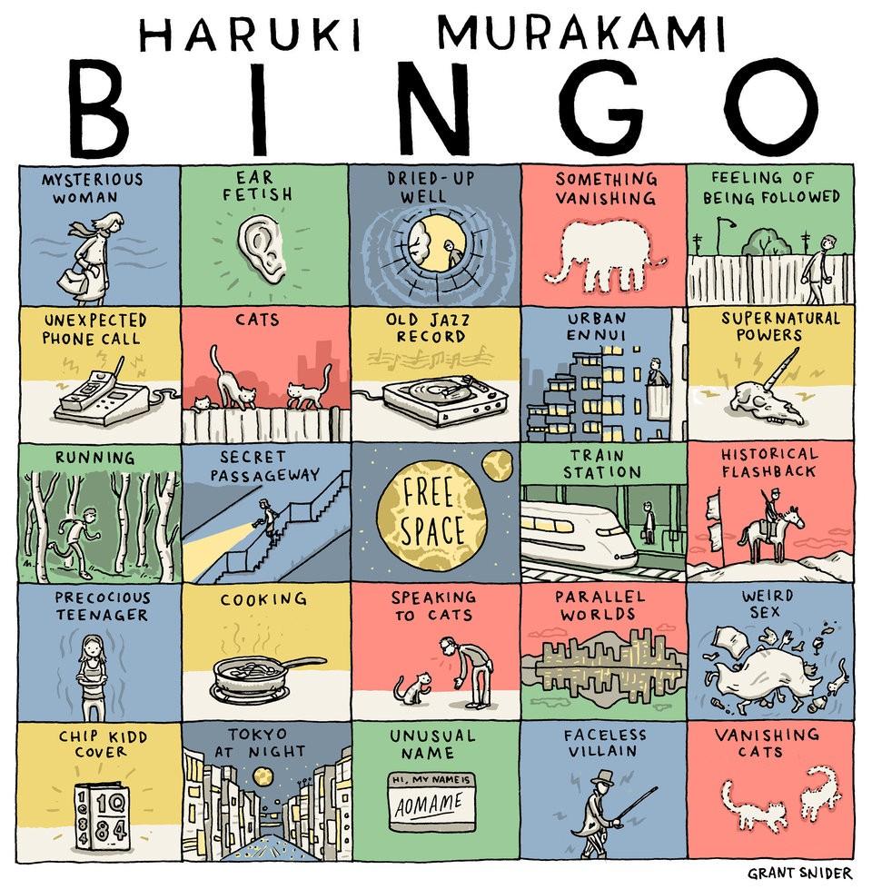 Murakami bingo comic