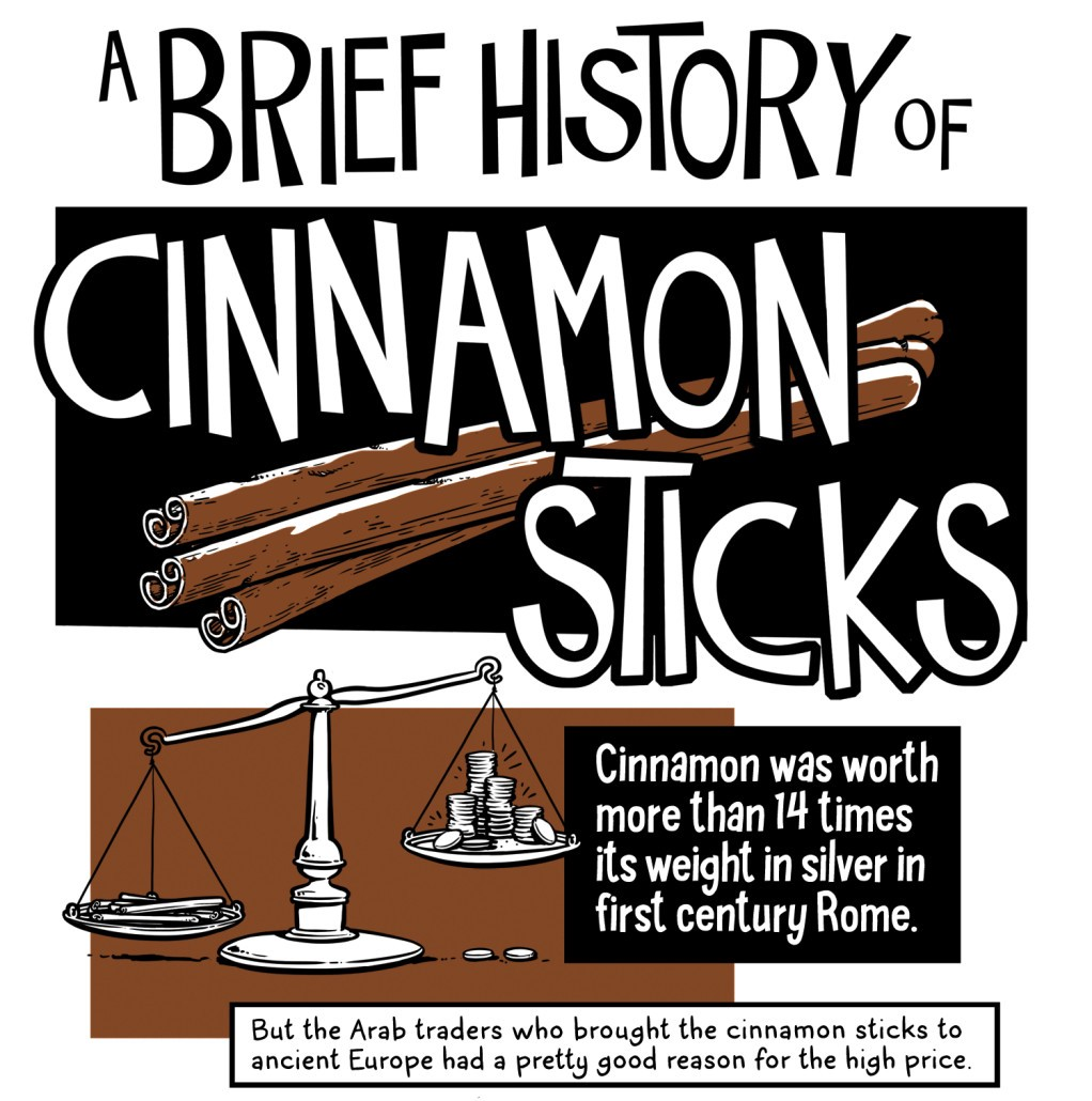 a brief history of cinnamon sticks, okey-panky