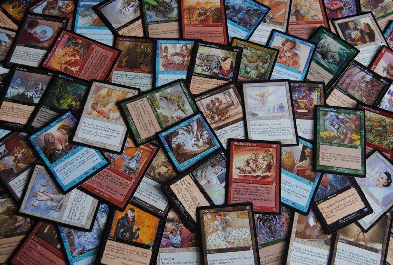 Magic: The Gathering cards