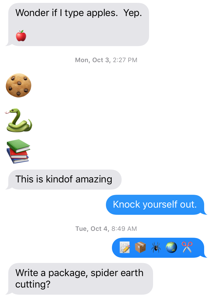 Eight Tiny Stories, Translated From the Emoji - Electric