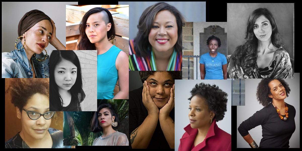 Author photos of WOC including Roxane Gay and Tayari Jones