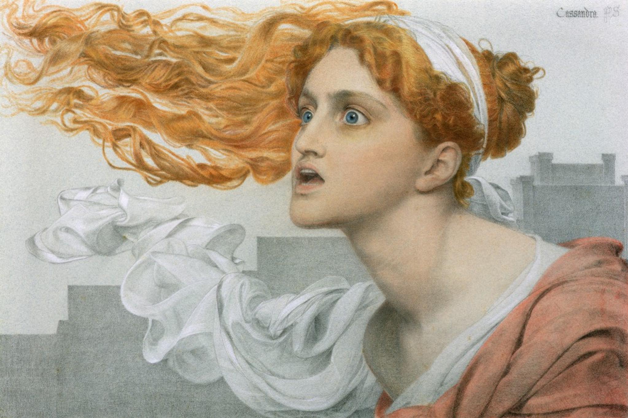 Cassandra by Anthony Frederick Augustus Sandys