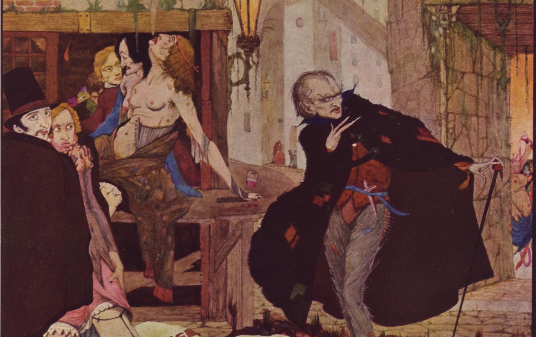 1920s Era Fantasy Concept Art