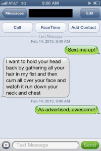 Best sexting examples