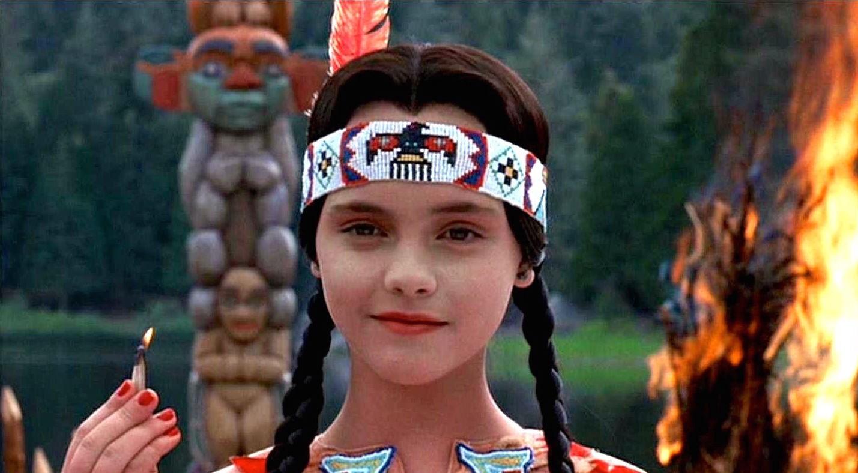 Wednesday Addams Pocahontas