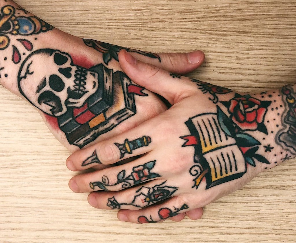 Check Out Our Favorite Tattoos Inspired By Books Electric Literature