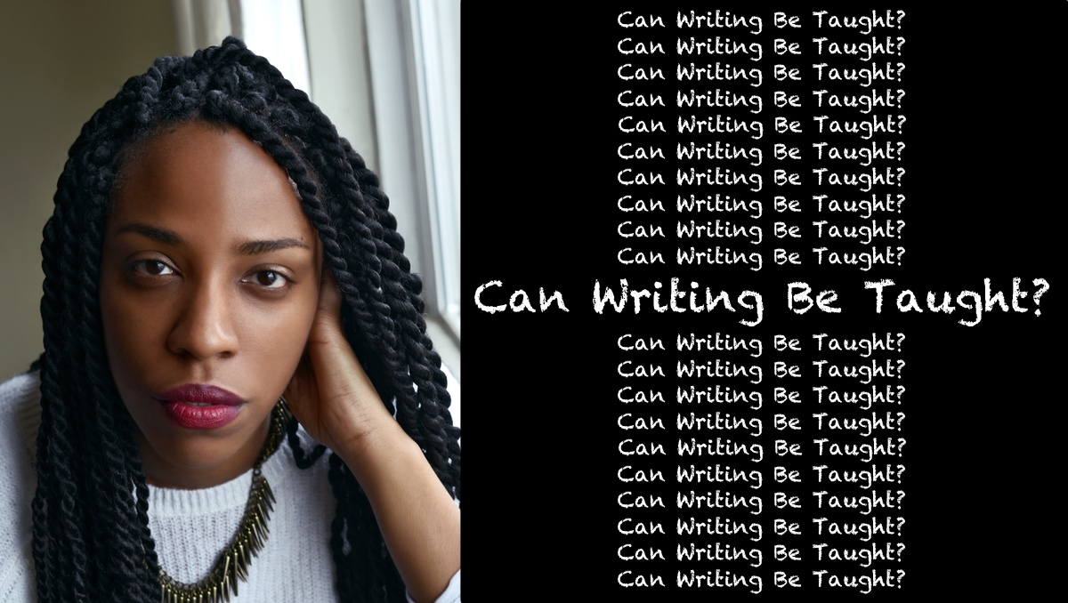 Can Writing Be Taught logo featuring Lauren Wilkinson, photo by Niqui Carter