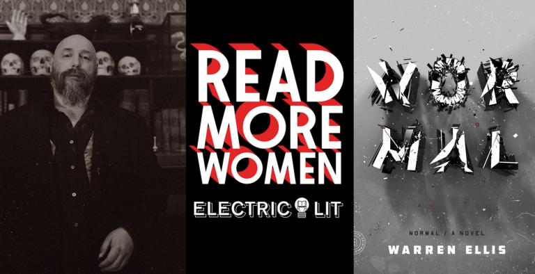 Warren Ellis for Electric Literature's Read More Women series