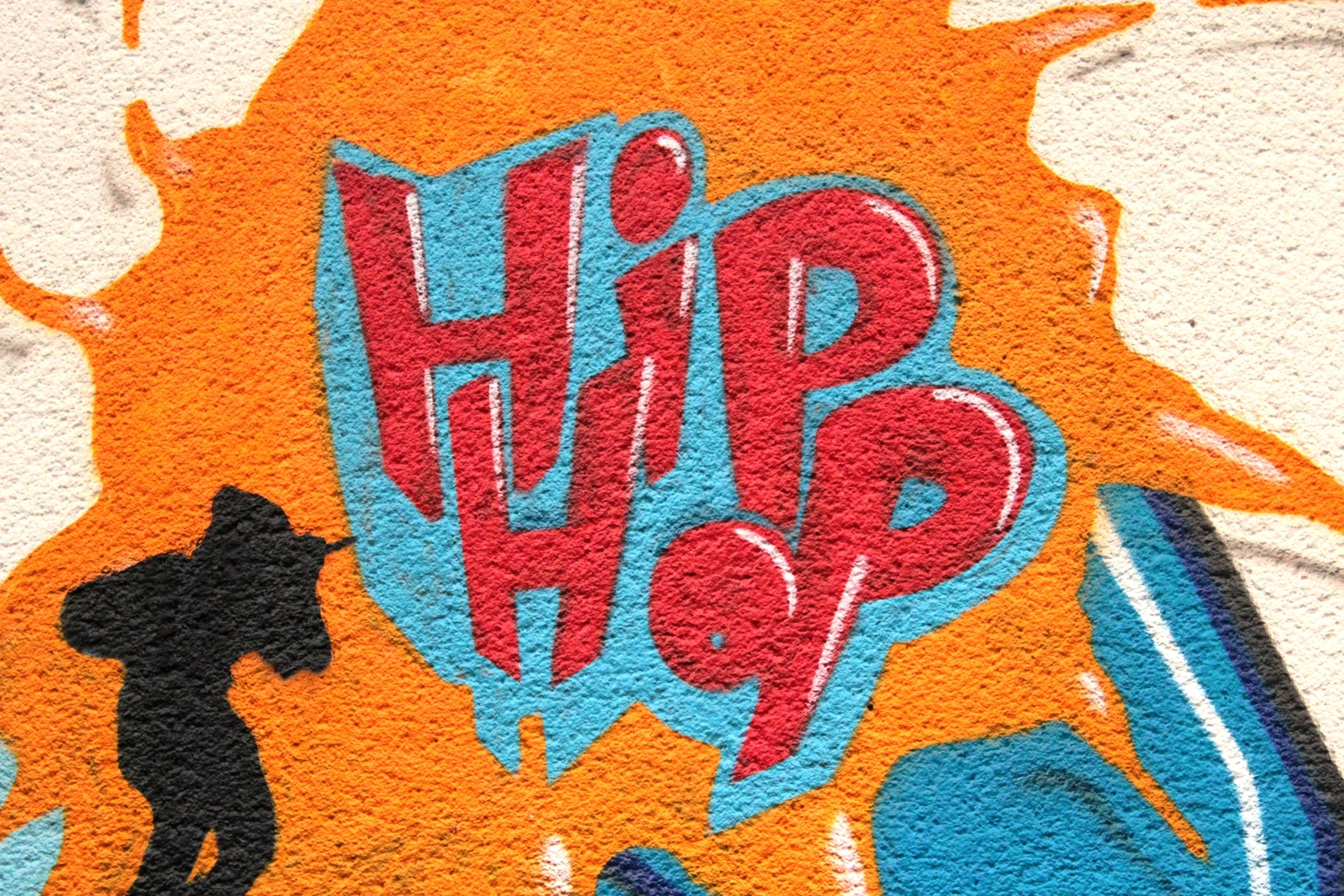 Graffiti that says Hip Hop