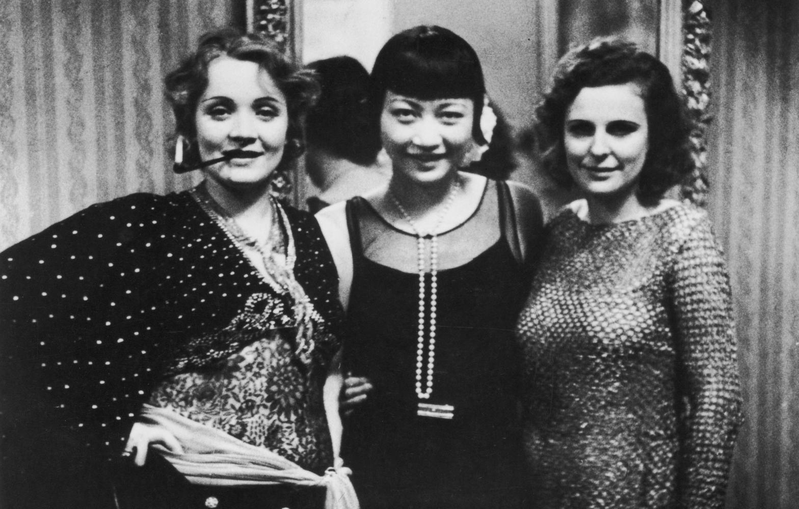 Leni Riefenstahl;Marlene Dietrich;Anna May Wong