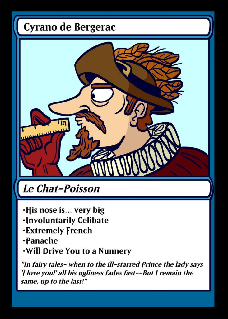 Cyrano playing card