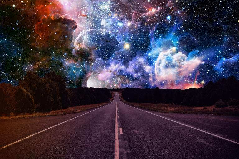 highway into outer space