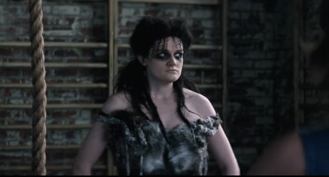 Screenshot of Sheila the She Wolf from GLOW