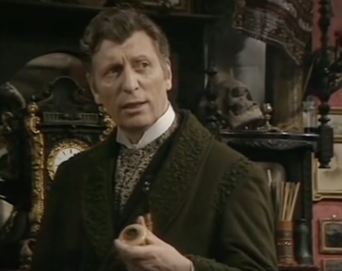 Tom Baker in The Hound of the Baskervilles