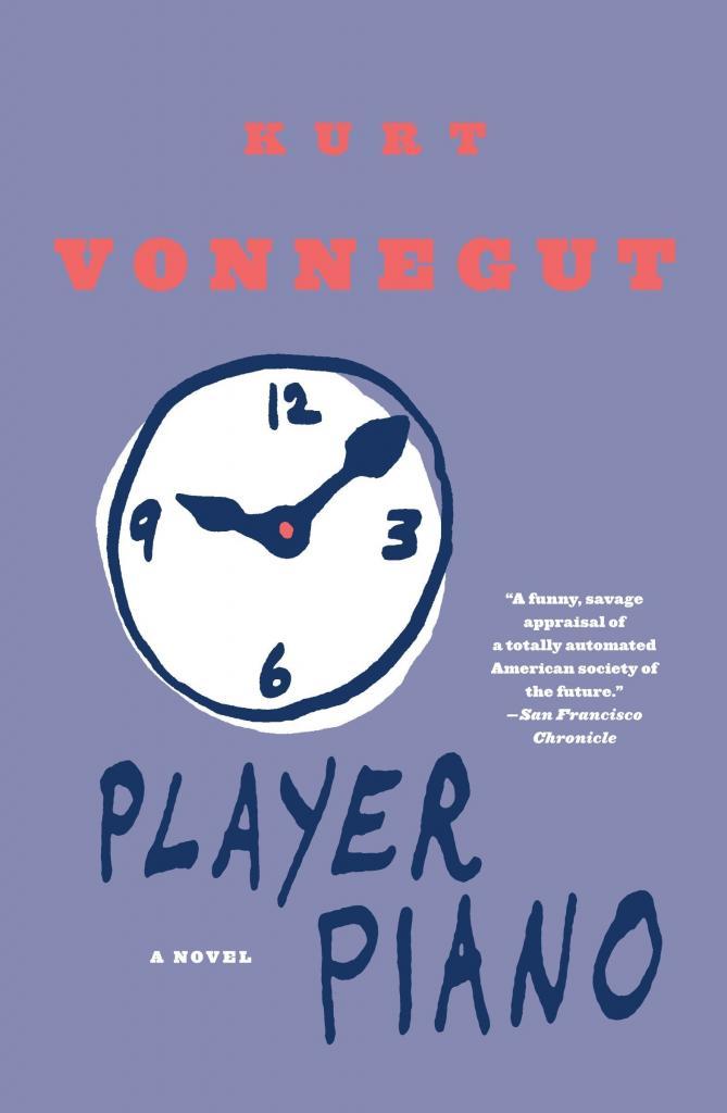 Kurt Vonnegut, Player Piano, book cover