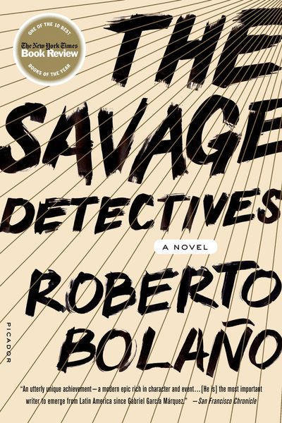 Image result for savage detectives by roberto bolaño