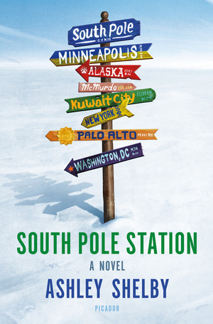 Image result for south pole station by ashley shelby