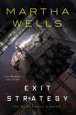 Image result for martha wells murderbot diaries