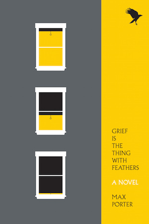 Image result for grief is the thing with feathers max porter cover