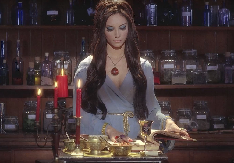 "Still from the movie ""Love Witch"""