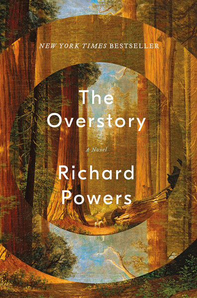 Image result for overstory richard powers cover