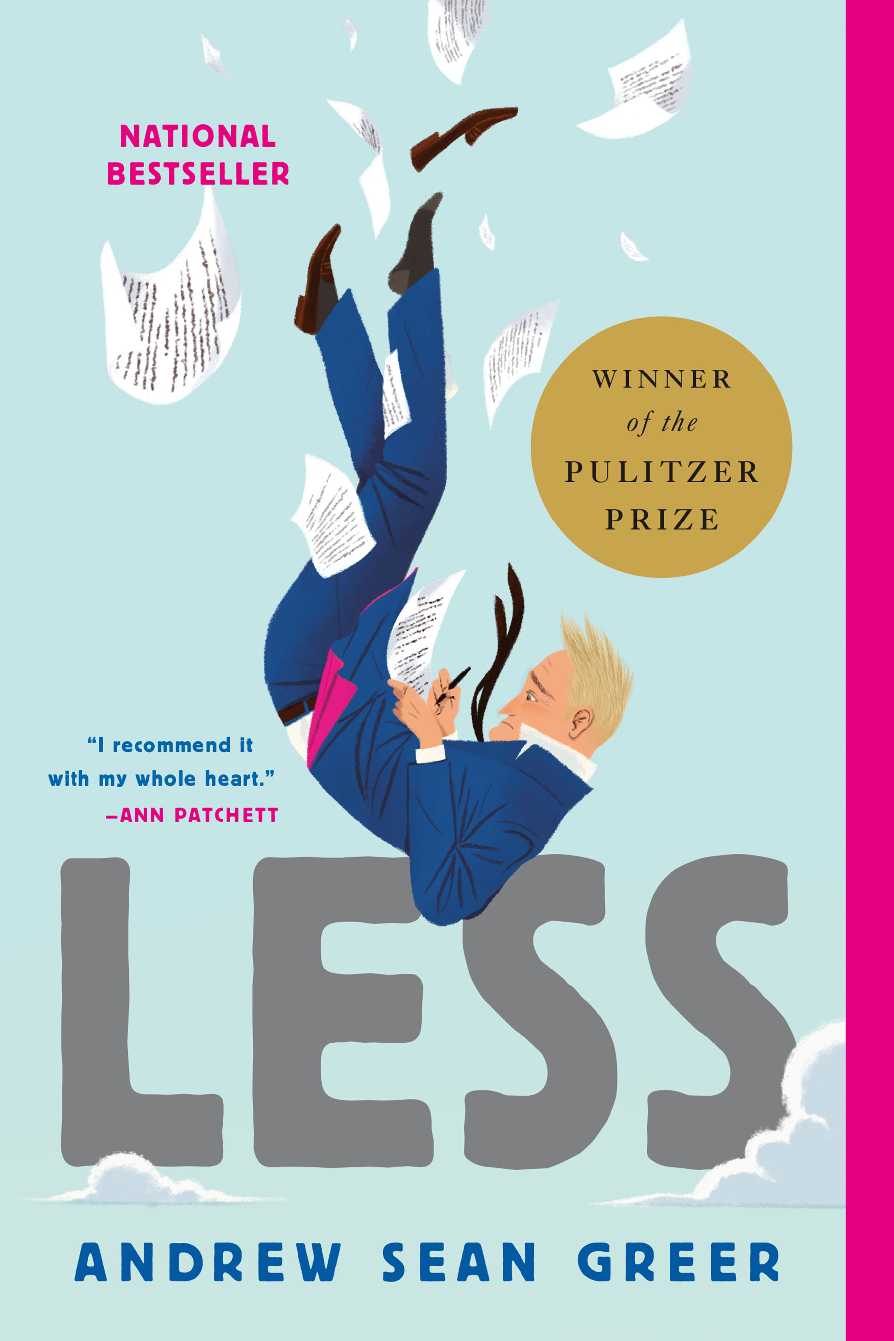 Image result for less andrew sean greer book cover