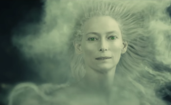 Tilda Swinton as the White Witch