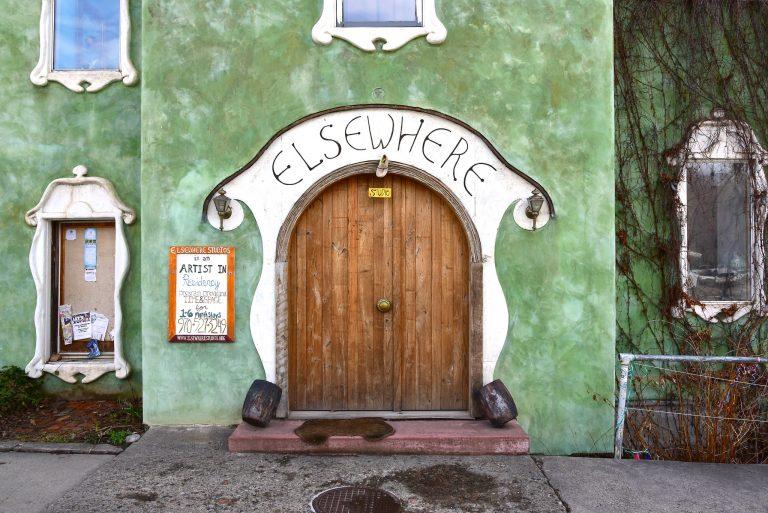 Door of Elsewhere Studios