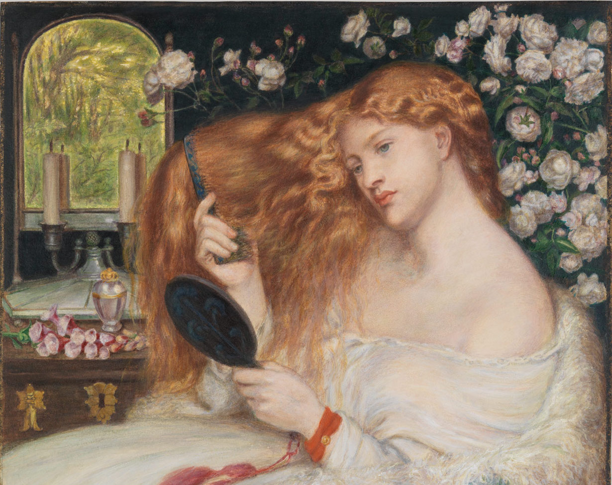 Lady Lilith by Dante Gabriel Rossetti. Courtesy of the Met.