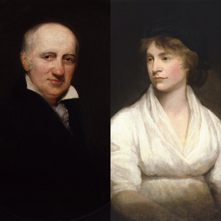 William Godwin and Mary Wollstonecraft, 1797