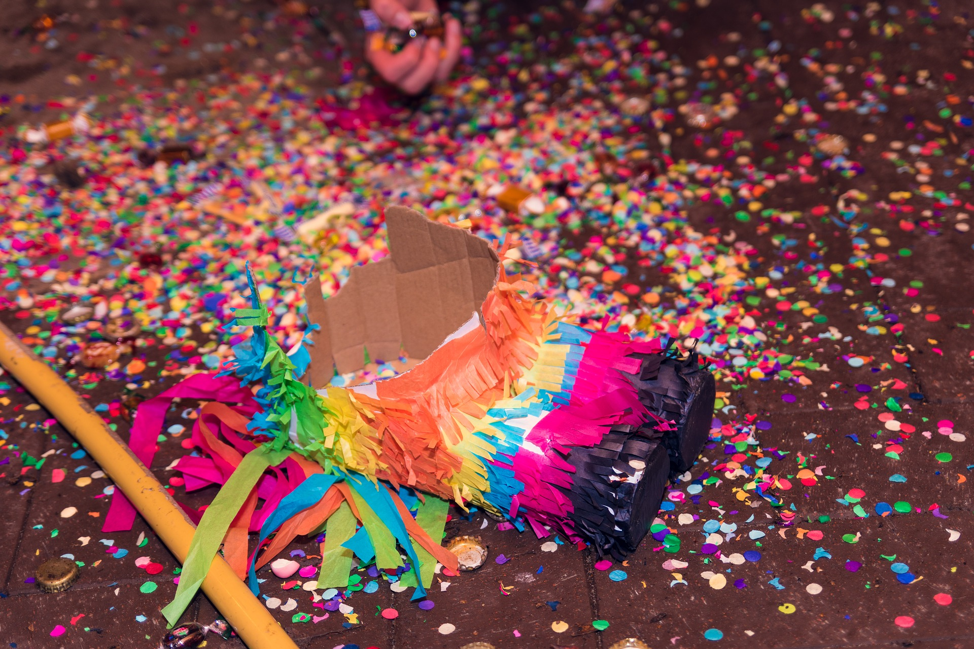 Exploded Pinata