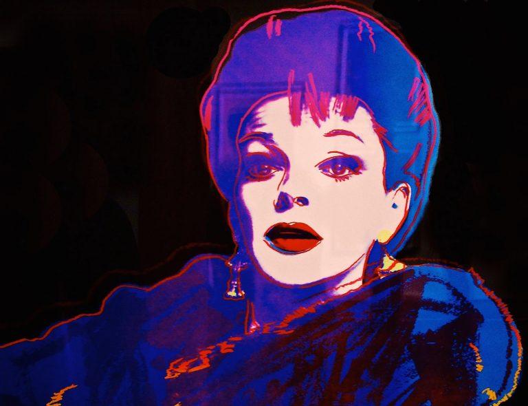 Andy Warhol print of Judy Garland