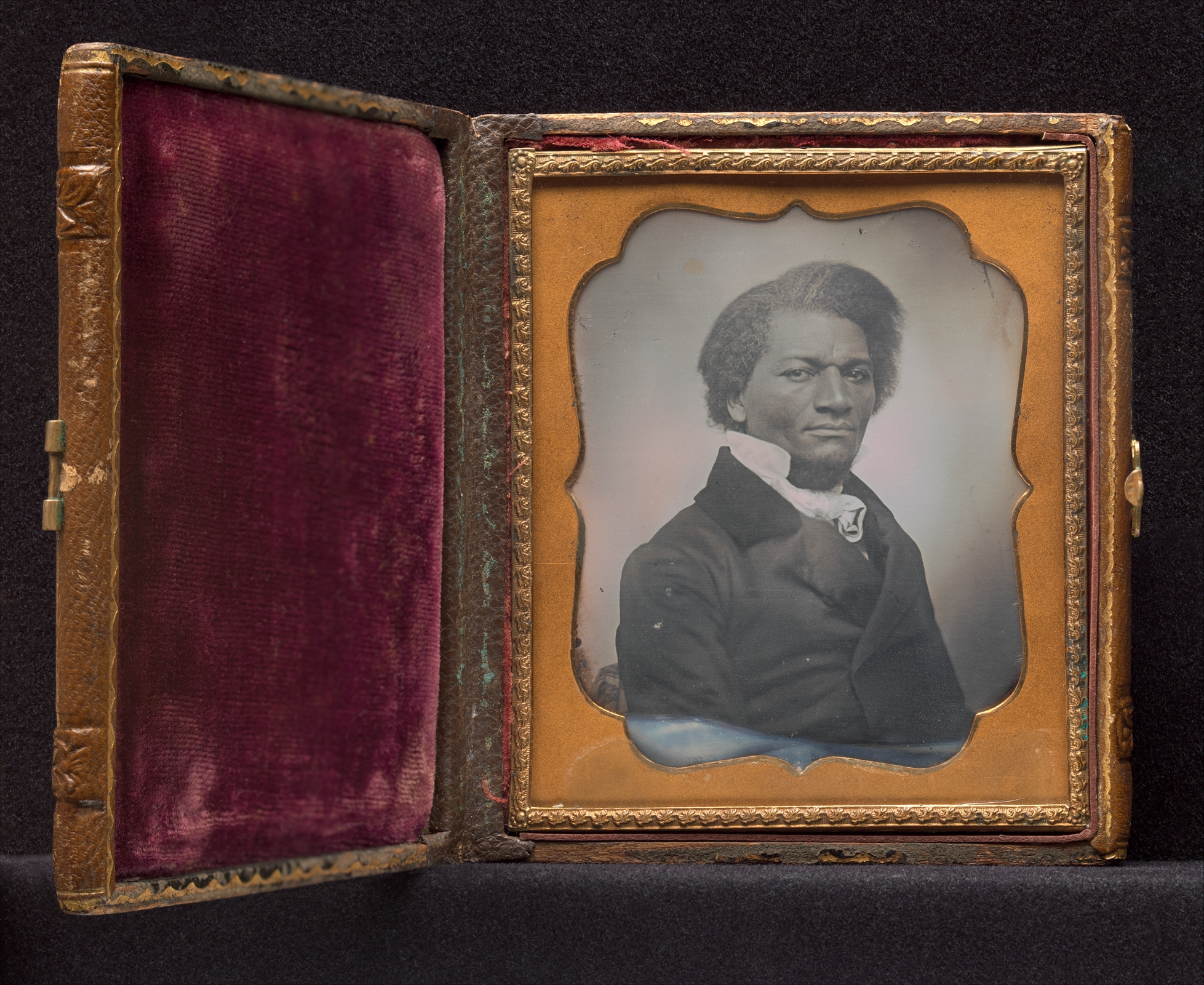 Frederick Douglass ca. 1855 via The Met