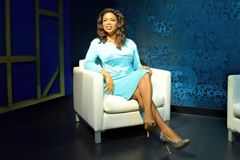 Wax figure of Oprah Winfrey