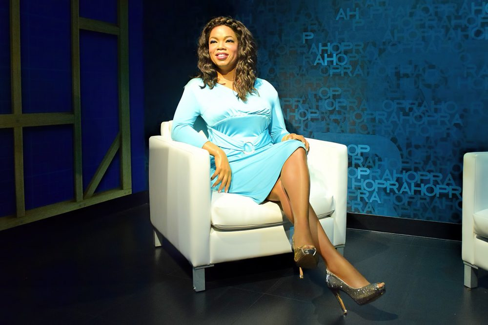 Wax figure of Oprah Winfrey
