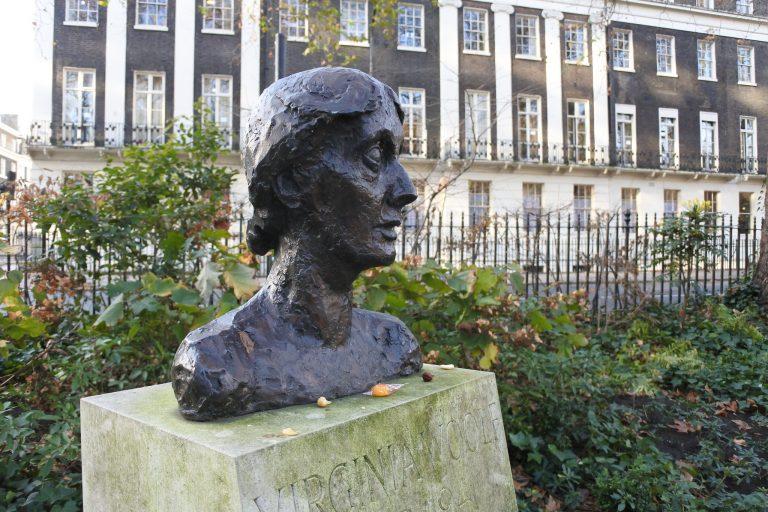 Bust of Virginia Woolf