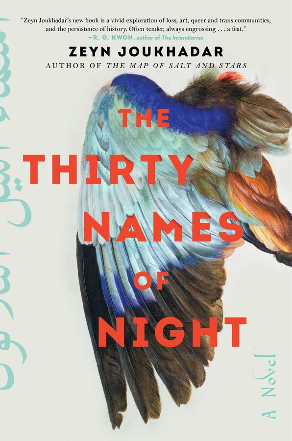 The Thirty Names of Night | Book by Zeyn Joukhadar | Official Publisher  Page | Simon & Schuster
