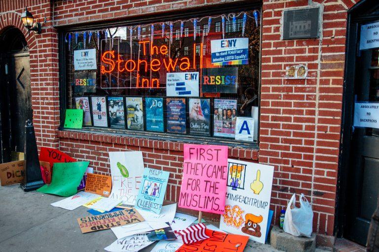 Photo of Stonewall Inn in New York City by Mathias Wasik via Flickr