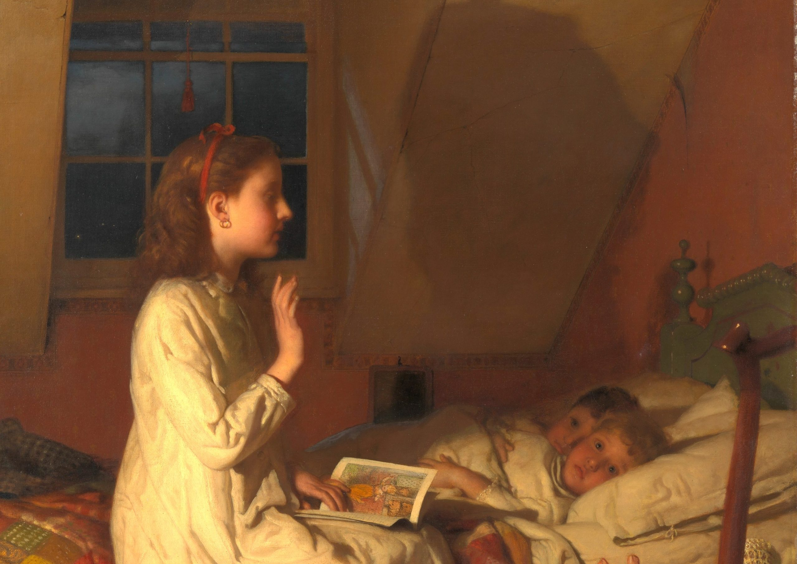 Story of Golden Locks (ca. 1870) by Seymour Joseph Guy.