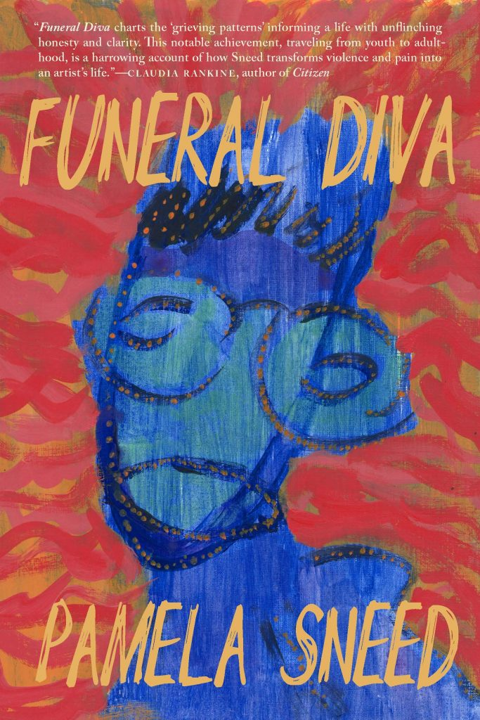 Cover of Funeral Diva by Pamela Sneed