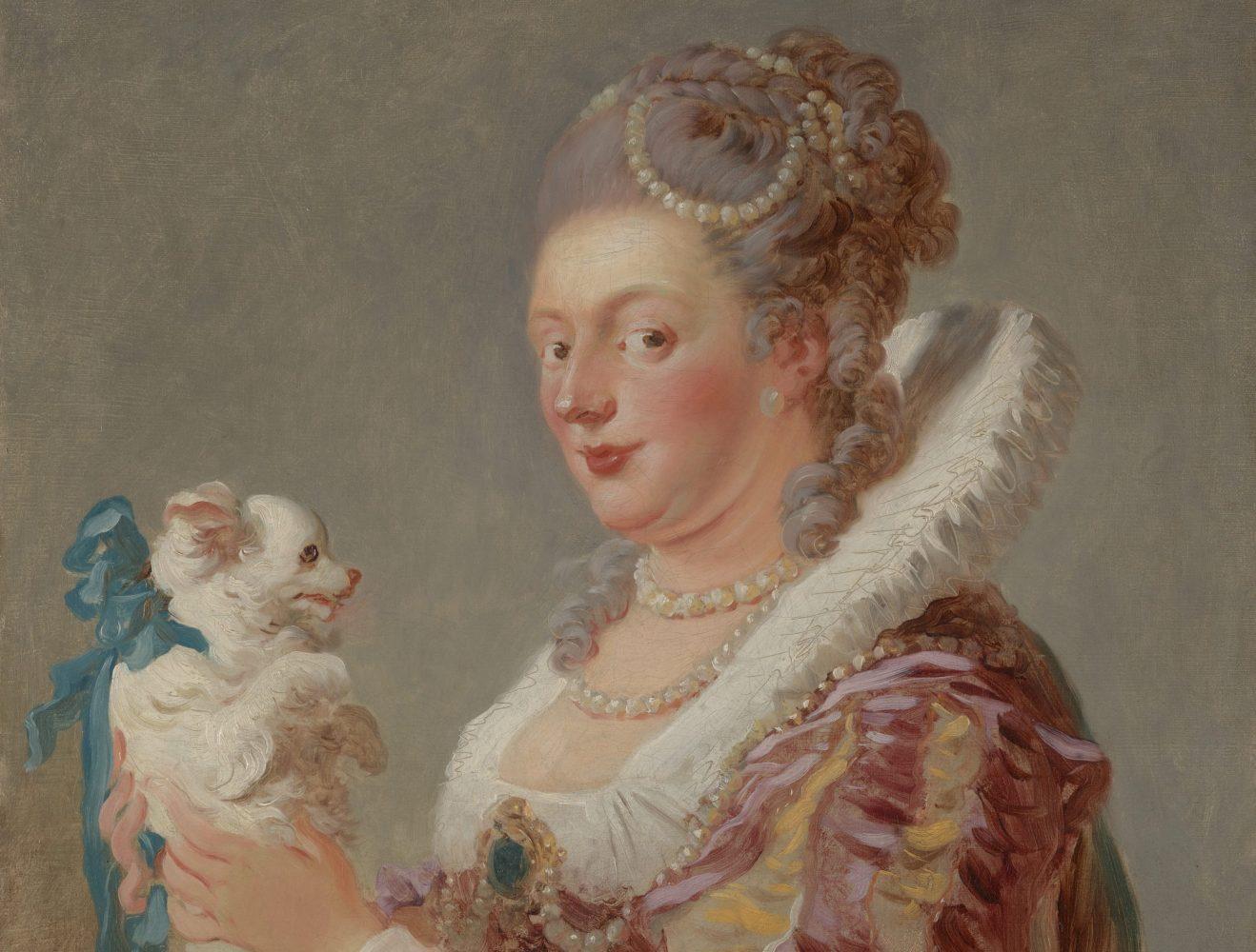 A Woman with a Dog, ca. 1769 by Jean Honoré Fragonard