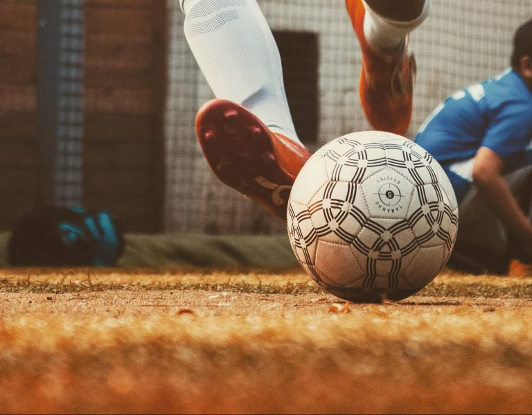 ball and foot