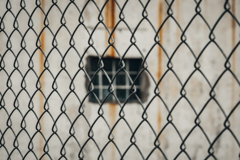 fence and window