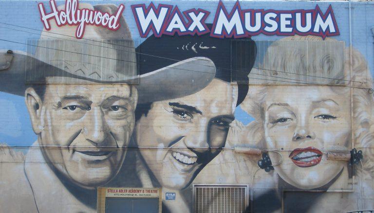 was museum mural of celebrities