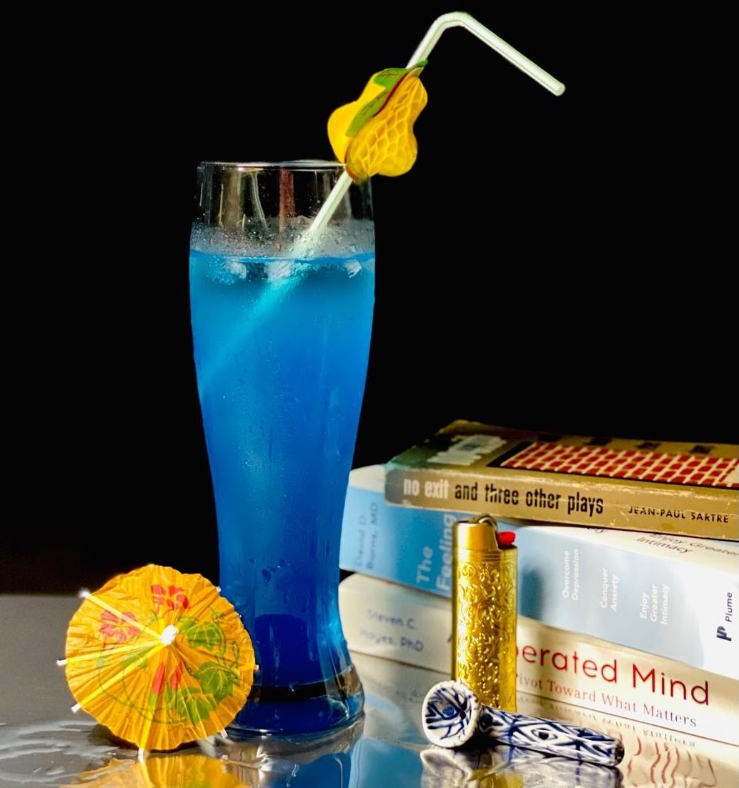 Cocktail tableau by Lindsay Merbaum
